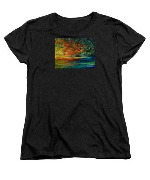A View To Remember Women's T-Shirt (Standard Cut) by Teresa Wegrzyn
