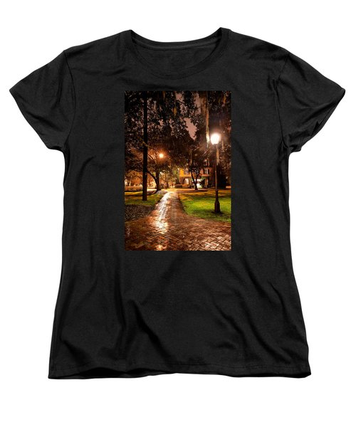 A Walk In The Park Women's T-Shirt (Standard Cut) by Renee Sullivan