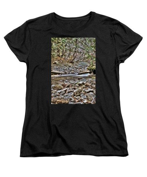 A Walk In The Woods Women's T-Shirt (Standard Cut)