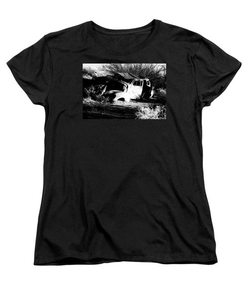 Women's T-Shirt (Standard Cut) featuring the photograph Abandoned by Jessica Shelton