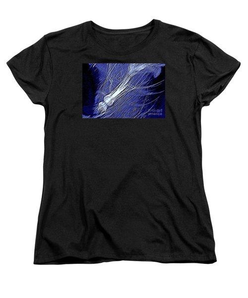 Aberration Of Jelly Fish In Rhapsody Series 5 Women's T-Shirt (Standard Cut) by Antonia Citrino