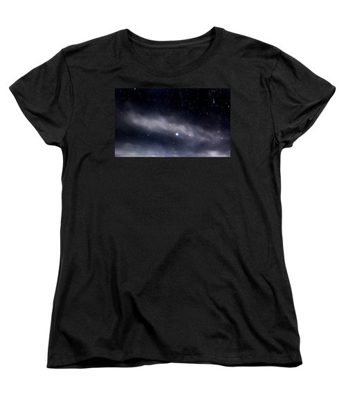 Women's T-Shirt (Standard Cut) featuring the photograph Above by Angela J Wright