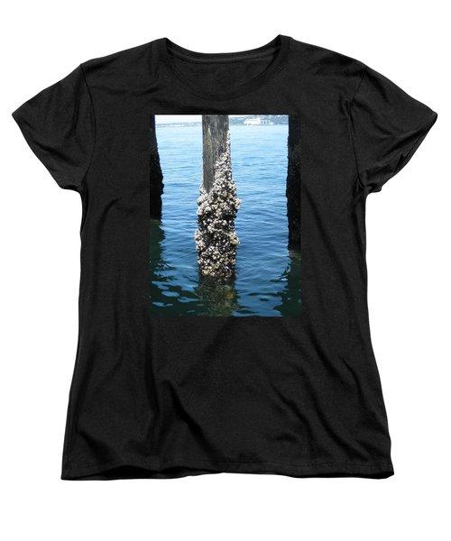 Above The Line Women's T-Shirt (Standard Cut) by David Trotter
