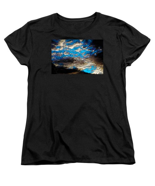 Abstract Clouds Women's T-Shirt (Standard Cut) by Claudia Ellis
