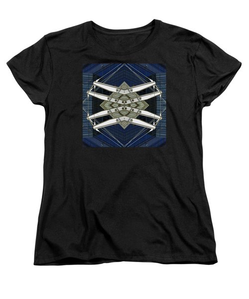 Abstract Construction Women's T-Shirt (Standard Cut) by Rick Mosher