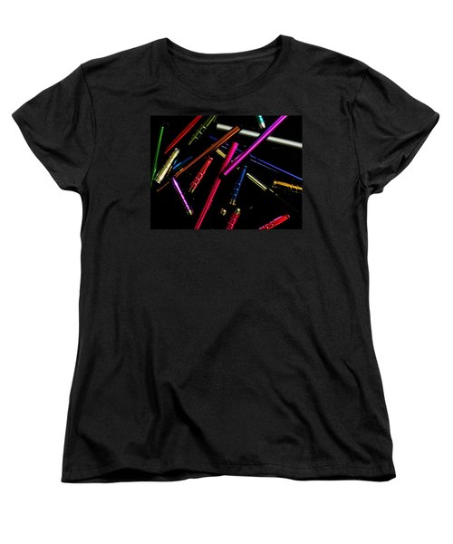 Abstract Elements Women's T-Shirt (Standard Cut) by Mark Blauhoefer