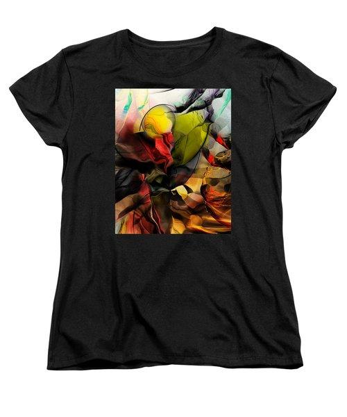 Abstraction 122614 Women's T-Shirt (Standard Cut) by David Lane