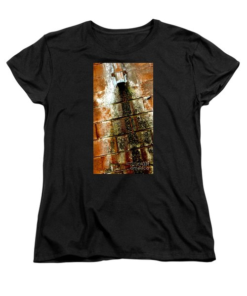 Women's T-Shirt (Standard Cut) featuring the photograph Acid Rain by Christiane Hellner-OBrien