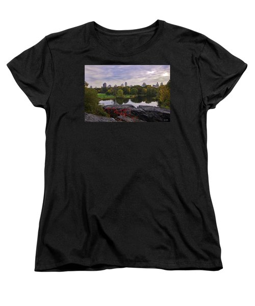 Across The Pond 2 - Central Park - Nyc Women's T-Shirt (Standard Cut) by Madeline Ellis