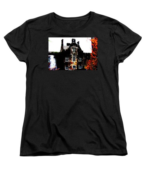 Women's T-Shirt (Standard Cut) featuring the photograph Adare Manor by Charlie and Norma Brock