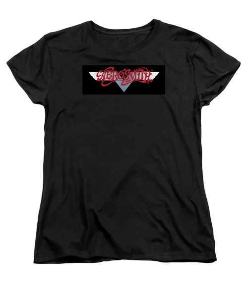 Aerosmith - Dream On Banner 1973 Women's T-Shirt (Standard Cut) by Epic Rights