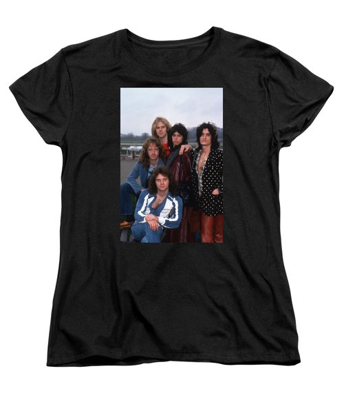 Aerosmith - Terre Haute 1977 Women's T-Shirt (Standard Cut) by Epic Rights