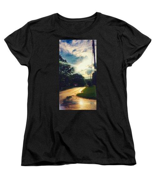 After Rain Women's T-Shirt (Standard Cut) by Hae Kim