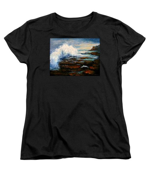 Women's T-Shirt (Standard Cut) featuring the painting After The Storm by Gail Kirtz