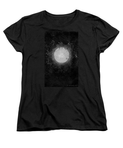 Women's T-Shirt (Standard Cut) featuring the drawing Afterward by Carol Jacobs
