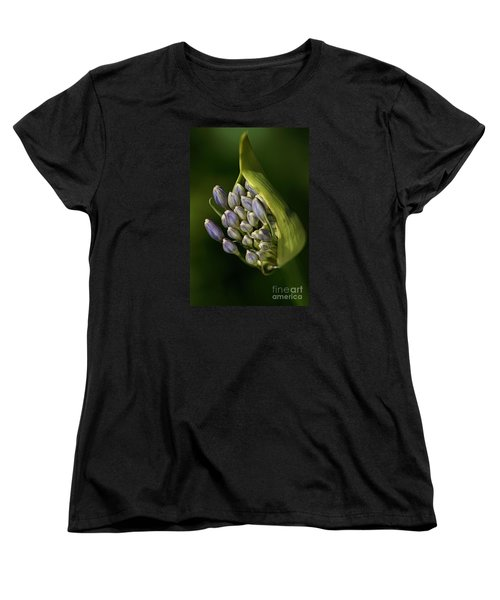 Women's T-Shirt (Standard Cut) featuring the photograph Agapanthus by Joy Watson