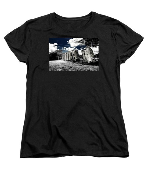 Airstream Ranch In Ir Hdr Women's T-Shirt (Standard Cut)