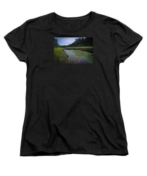Women's T-Shirt (Standard Cut) featuring the photograph Alabama Country by Julie Andel
