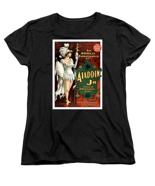 Aladdin Jr Amazon Women's T-Shirt (Standard Cut) by Terry Reynoldson