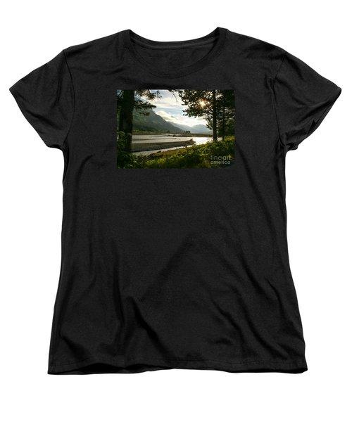 Alaskan Valley Women's T-Shirt (Standard Cut) by Jennifer White