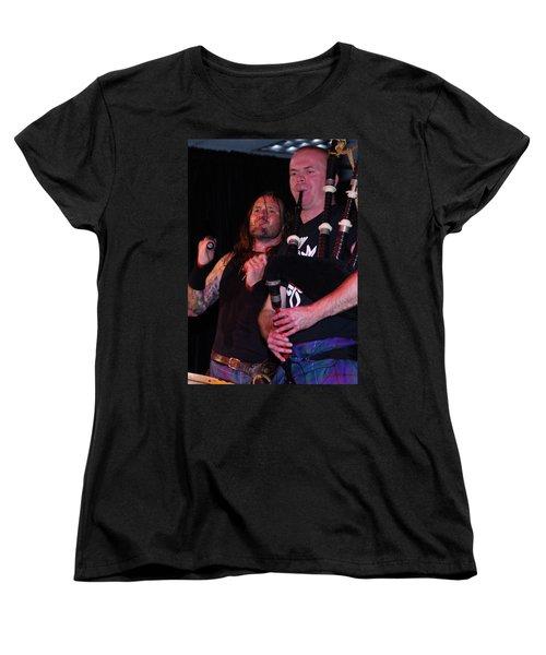 Women's T-Shirt (Standard Cut) featuring the photograph Albannach by Greg Graham