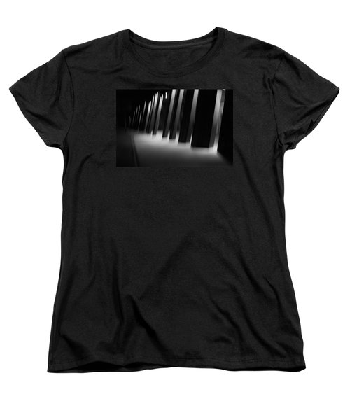 Women's T-Shirt (Standard Cut) featuring the photograph Alien Medical Research Center by Alex Lapidus