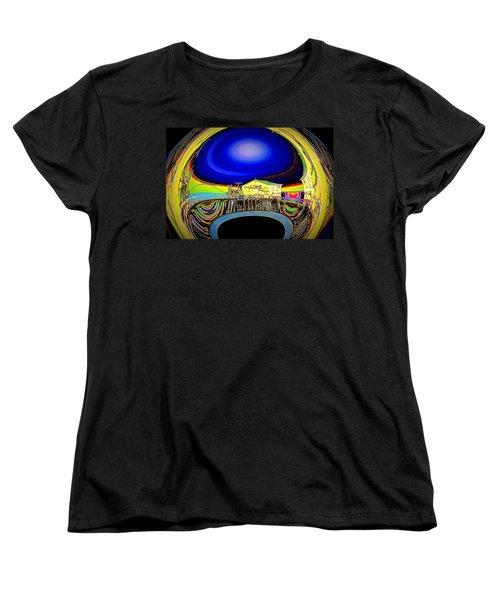 All Aboard  Women's T-Shirt (Standard Cut) by Nick David