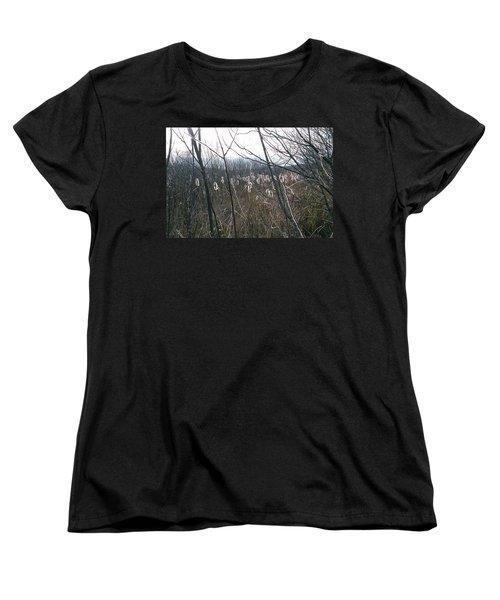 Women's T-Shirt (Standard Cut) featuring the photograph All Aglow by David Porteus