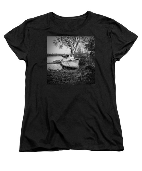 All Ashore Women's T-Shirt (Standard Cut)
