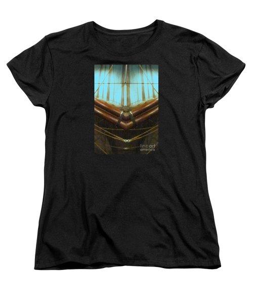 All Fore Naut Women's T-Shirt (Standard Cut) by Barbie Corbett-Newmin