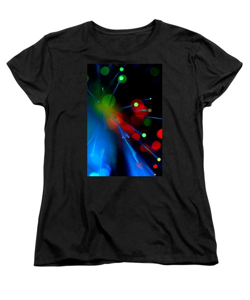 All Through The Night Women's T-Shirt (Standard Cut) by Dazzle Zazz