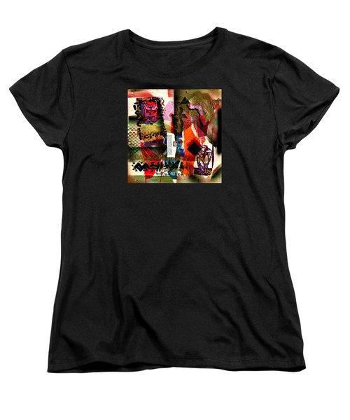 Allegories Of Liberty Women's T-Shirt (Standard Cut) by Everett Spruill