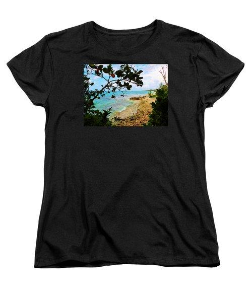 Women's T-Shirt (Standard Cut) featuring the photograph Almond View by Amar Sheow