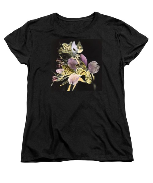 Women's T-Shirt (Standard Cut) featuring the photograph Alstroemeria by Lana Enderle