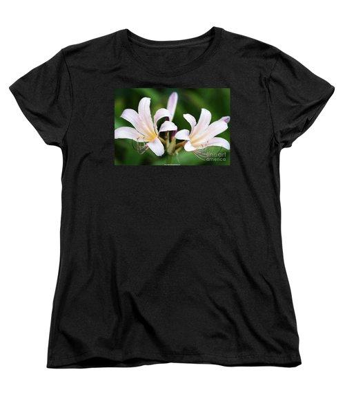Amaryllis Belladonna Naked Ladies Women's T-Shirt (Standard Cut)