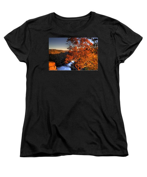 Women's T-Shirt (Standard Cut) featuring the photograph Amazing Tree At Overlook by Jonny D