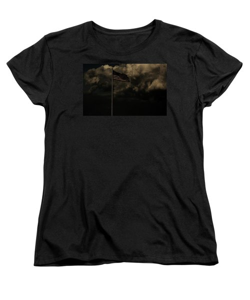 Women's T-Shirt (Standard Cut) featuring the photograph America....... by Jessica Shelton
