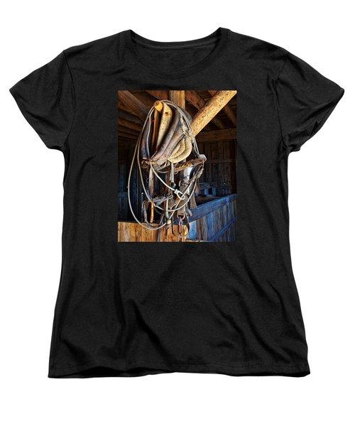 Women's T-Shirt (Standard Cut) featuring the photograph American History by Jim Garrison