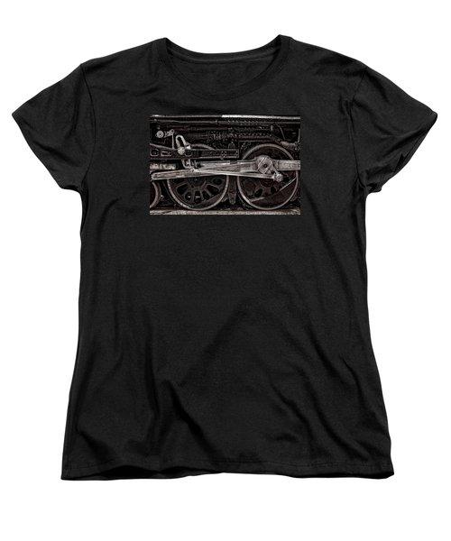 Women's T-Shirt (Standard Cut) featuring the photograph American Iron by Ken Smith