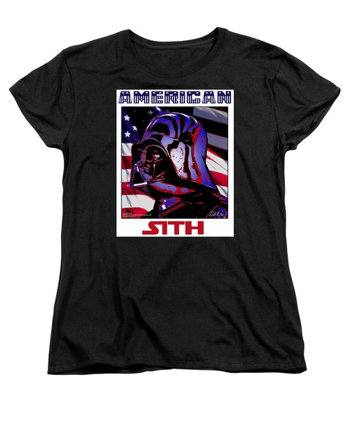 American Sith Women's T-Shirt (Standard Cut) by Dale Loos Jr