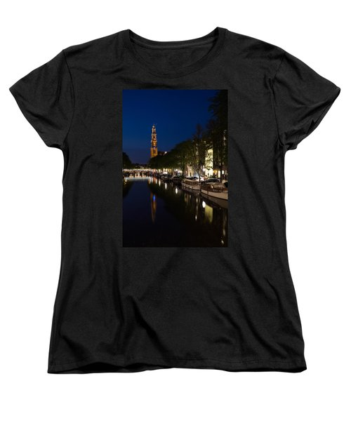 Amsterdam Blue Hour Women's T-Shirt (Standard Cut)