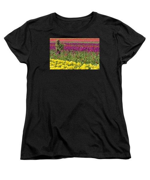 An Arm Full Of Beauty Women's T-Shirt (Standard Cut) by Nick  Boren