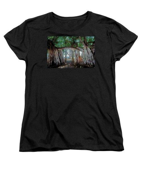 Ancient Arch Women's T-Shirt (Standard Cut) by Terry Reynoldson