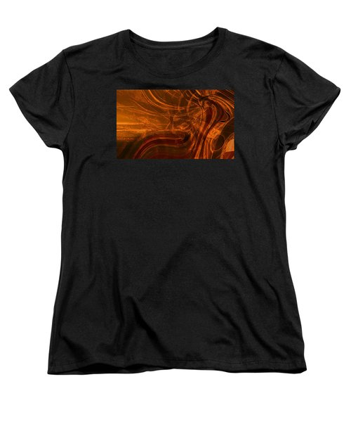 Women's T-Shirt (Standard Cut) featuring the digital art Ancient by Richard Thomas