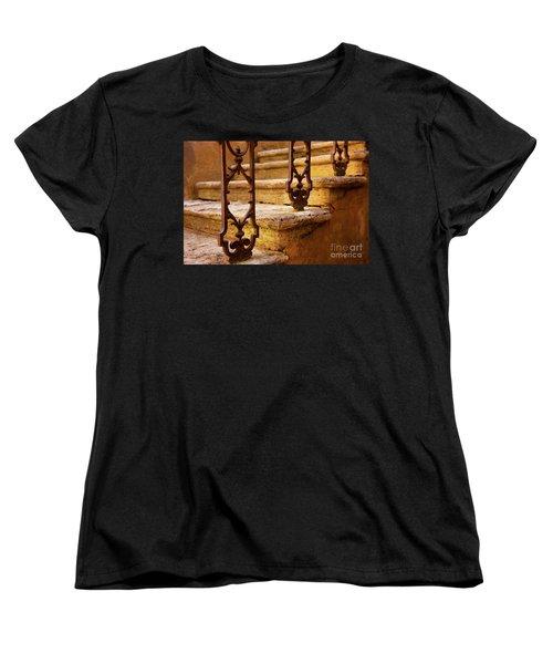 Ancient Steps Women's T-Shirt (Standard Cut) by Brian Jannsen