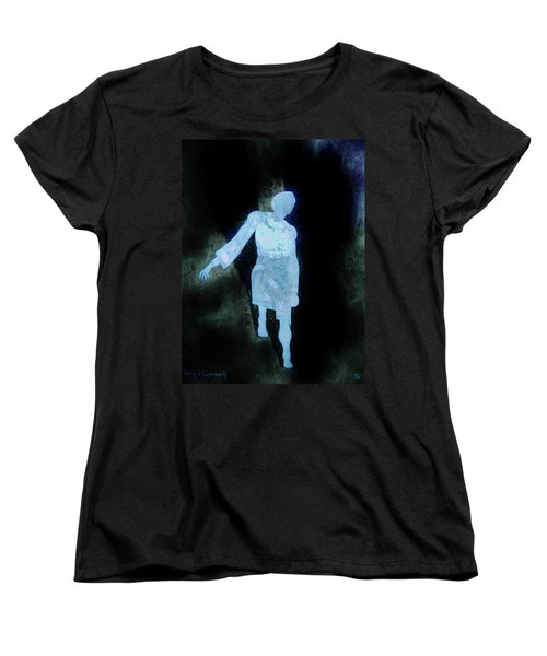 Oh That I Were An Angel  Women's T-Shirt (Standard Cut) by Larry Campbell