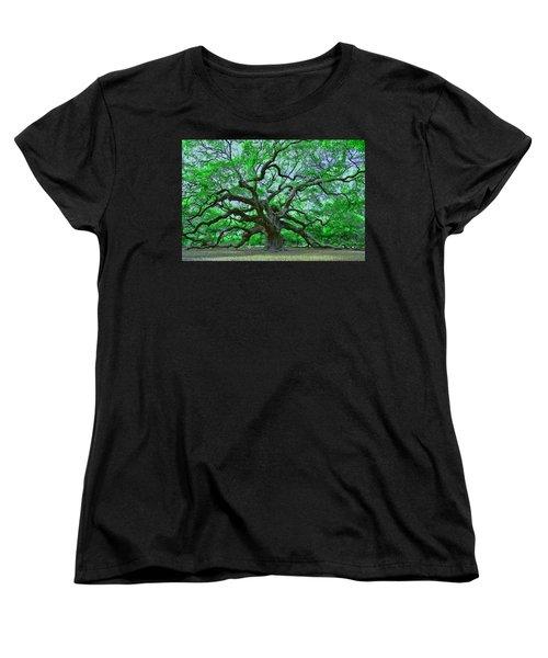 Angel Oak Women's T-Shirt (Standard Cut)