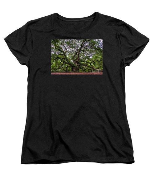 Angel Oak Tree Women's T-Shirt (Standard Cut)