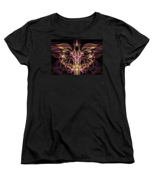 Angel Of Death Women's T-Shirt (Standard Cut) by Lilia D