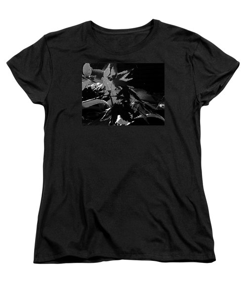 Women's T-Shirt (Standard Cut) featuring the photograph Angels Or Dragons B/w by Martin Howard